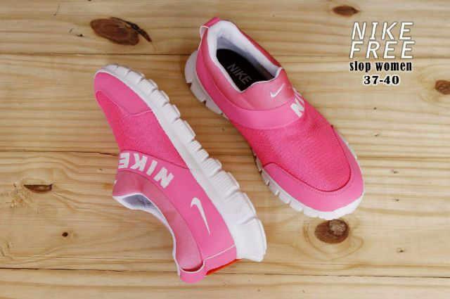 harga Promo sepatu wanita olahraga slip on sneakers nike free import Tokopedia.com