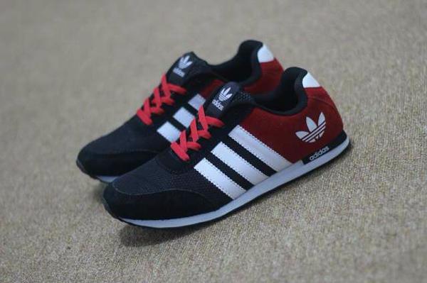 Adidas Neo V racer Nylon Black red