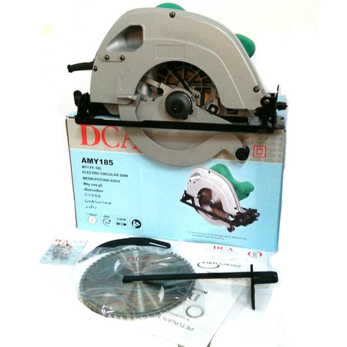 harga Dca 185mm circular saw amy-185 heavy duty - mesin potong kayu gergaji Tokopedia.com