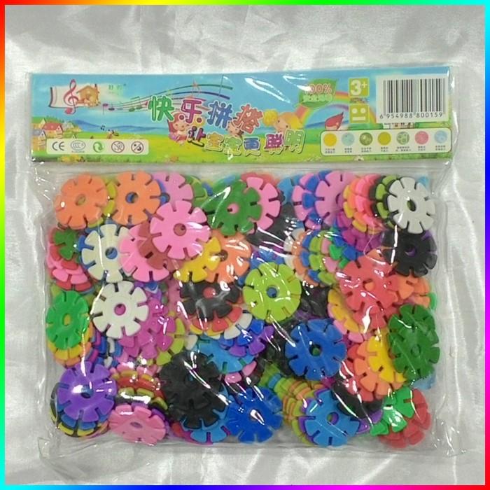 harga Mainan meronce bombik tazos lego bunga merangkai snow flower flake toy Tokopedia.com