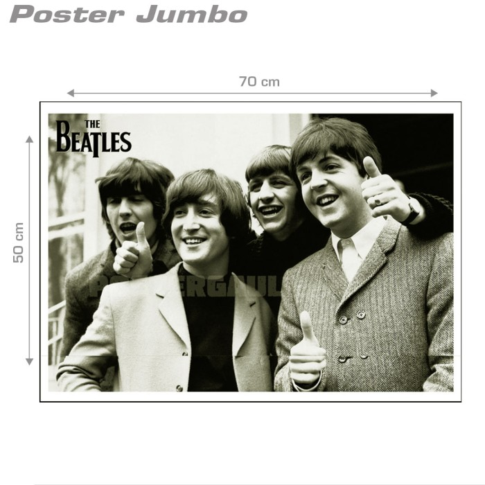 Poster THE BEATLES #11 - Jumbo size 50 x 70 cm