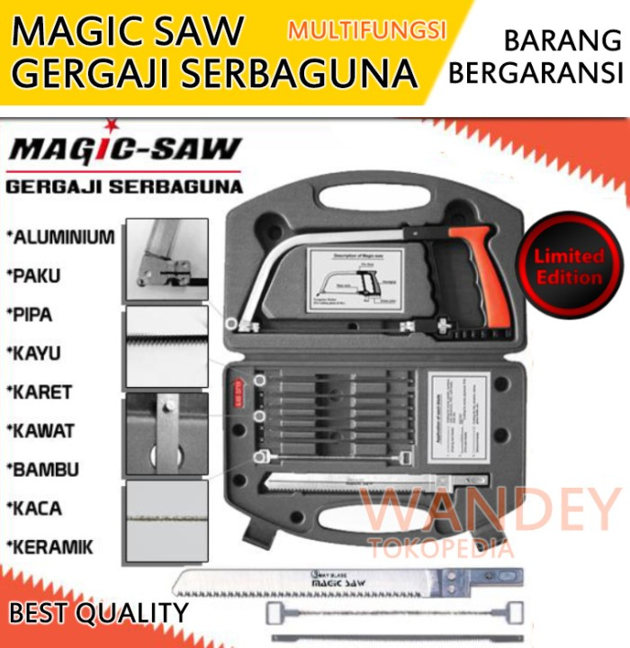 Magic Saw Original Korea Multifungsi / Gergaji Serbaguna