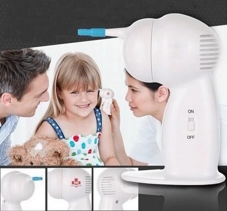 Waxvac Ear Cleaner Vacuum Removal / Pembersih Penyedot Kotoran Telinga .