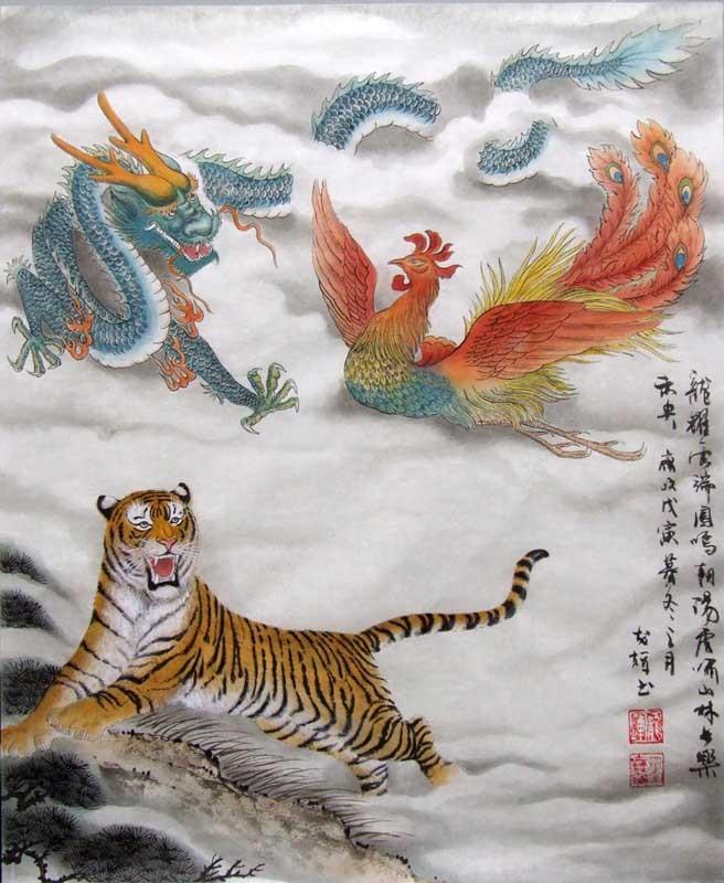 harga Repro digital lukisan china naga dragon feng shui klasik tradisional Tokopedia.com