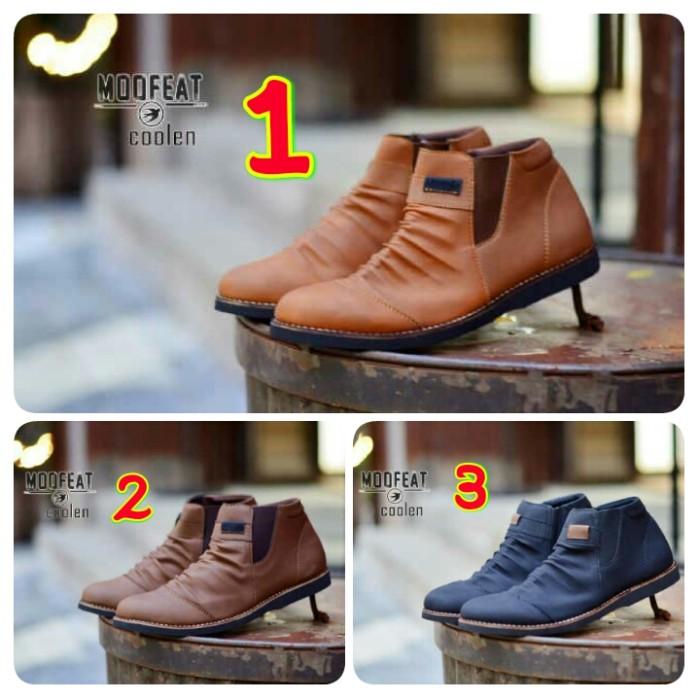 harga Sepatu pria casual moofeat coolen high fashion Tokopedia.com