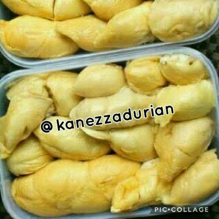 Durian Kupas Beku Asli Medan