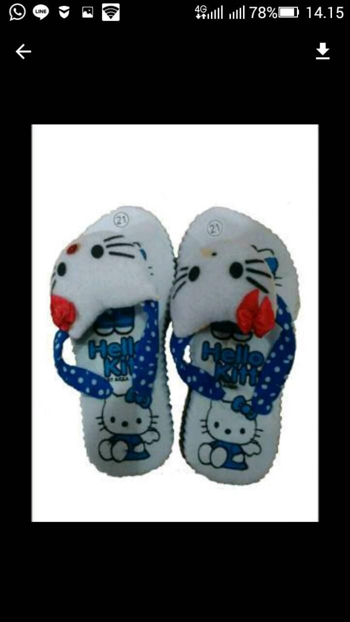 harga Sandal jepit hello kitty khas jogja harga murah/ sandal anak perempuan Tokopedia.com