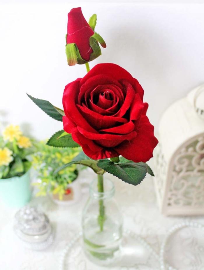 Jual 1 Tangkai Setangkai Mawar Rose Bunga Artificial Sintetis Red Merah Jakarta Selatan Lapak Angela Tokopedia