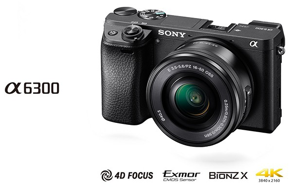 Kamera sony alpha 6300 a6300 kit 16-50mm oss garansi resmi