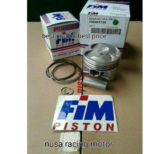 harga Piston kit suzuki satria fu 150 size 63.5 oversize 150 fim izumi racin Tokopedia.com