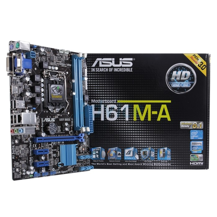 Asus H61M-A Drivers Windows 7