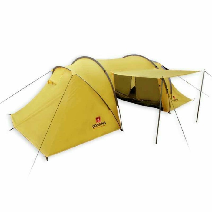 harga Tenda dome camping consina tunnel 4 Tokopedia.com