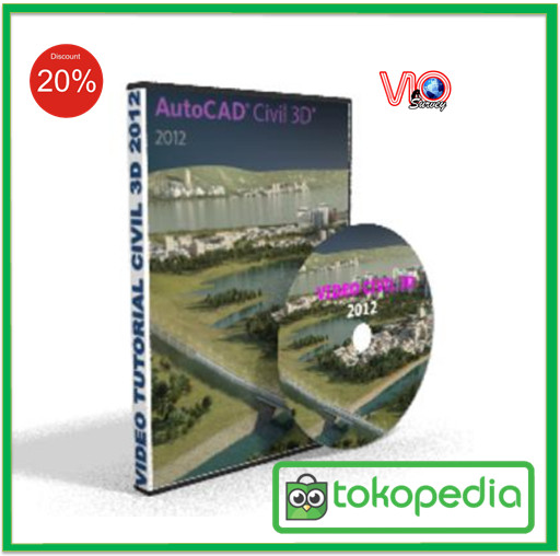 Jual Cd Video Tutorial Autocad Civil 3d 2012 Bahasa Indonesia - Kab   Bandung Barat - VIO SURVEY | Tokopedia