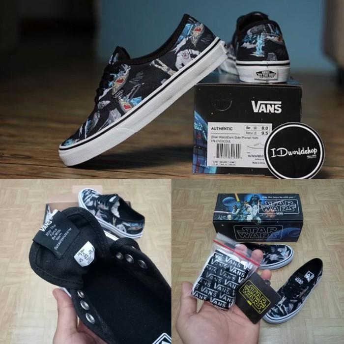 968084d1650304 Jual sepatu Vans Authentic x Starwars Dark Side Planet Hoth BNIB ...