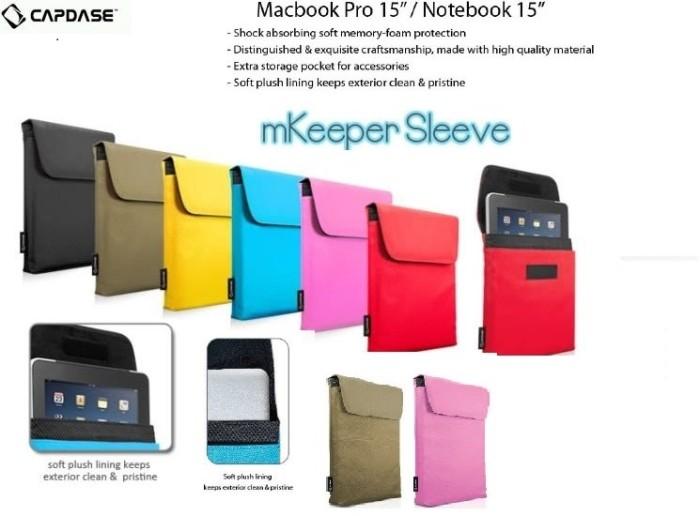 harga Tas capdase 15 sleeve mkeeper case macbook pro retina notebook asus hp Tokopedia.com
