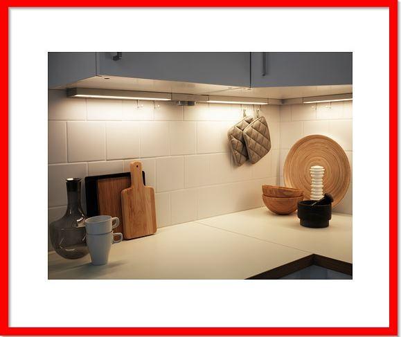 Ikea Utrusta Lampu Meja Dapur Led Dg Pwr Supply Alumunium