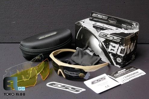 harga Kacamata ess crossbow 3ls kit tan cokelat gurun Tokopedia.com