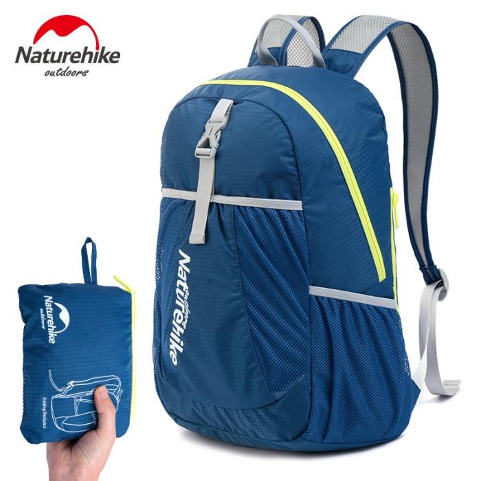 Jual Folding Bag Tas Lipat Ringan Outdoor Travel Hiking