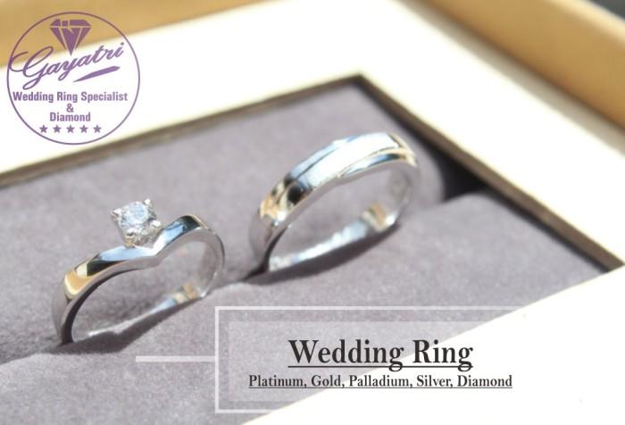 hitz model cincin pernikahan terbaru bahan perak 925 rhodium