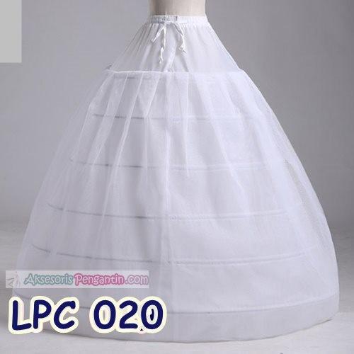 harga Petticoat Wedding Gown-rok Pengembang Gaun Pengantin6ring1layer-lpc020 Tokopedia.com