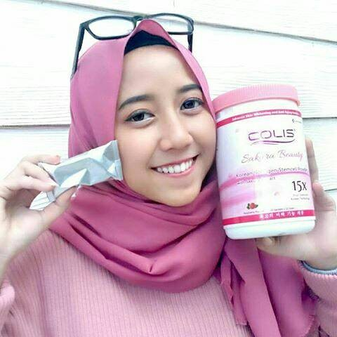 harga Colis / colis sakura beauty / collagen / aura white Tokopedia.com