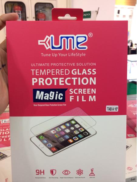 harga Samsung galaxy tab a 10  ume tempered glass anti gores kaca Tokopedia.com