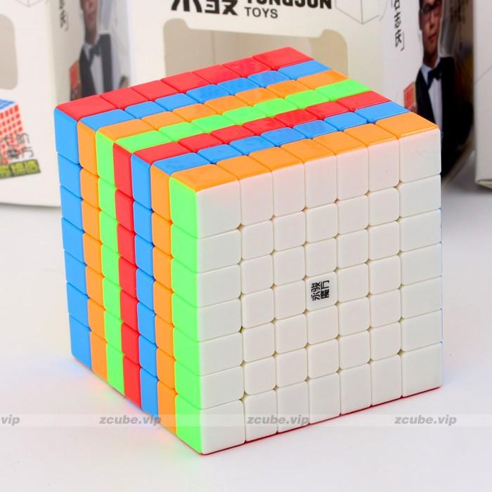 Foto Produk Rubik 7x7 Yong Jun YJ YuFu 7x7 Stickerless Bright dari Balam Cubes