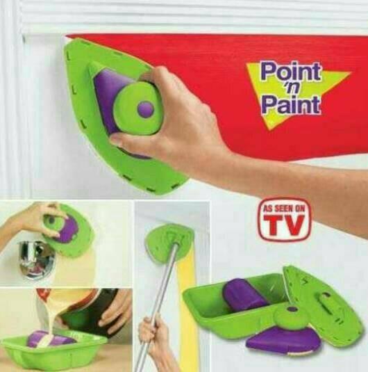 harga Point n paint as seen on tv - kuas rol cat tembok Tokopedia.com