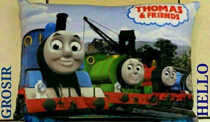 ... harga Bantal thomas and friends serial televisi anak-anak kereta api train Tokopedia.com