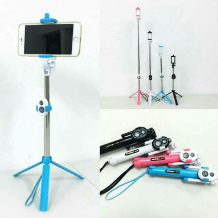 ... Remote Bluetooth Free Holder. Source · TONGSIS 3 IN 1 selfie stick WXY-01 for android iOS( tripod,tomsis