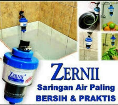 Paket 3 Zernii Plus 4 Kapas Dan 4 Refill Karbon
