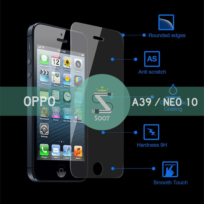 Oppo A39 / Neo 10 | Tempered Glass Anti Gores Screen Guard