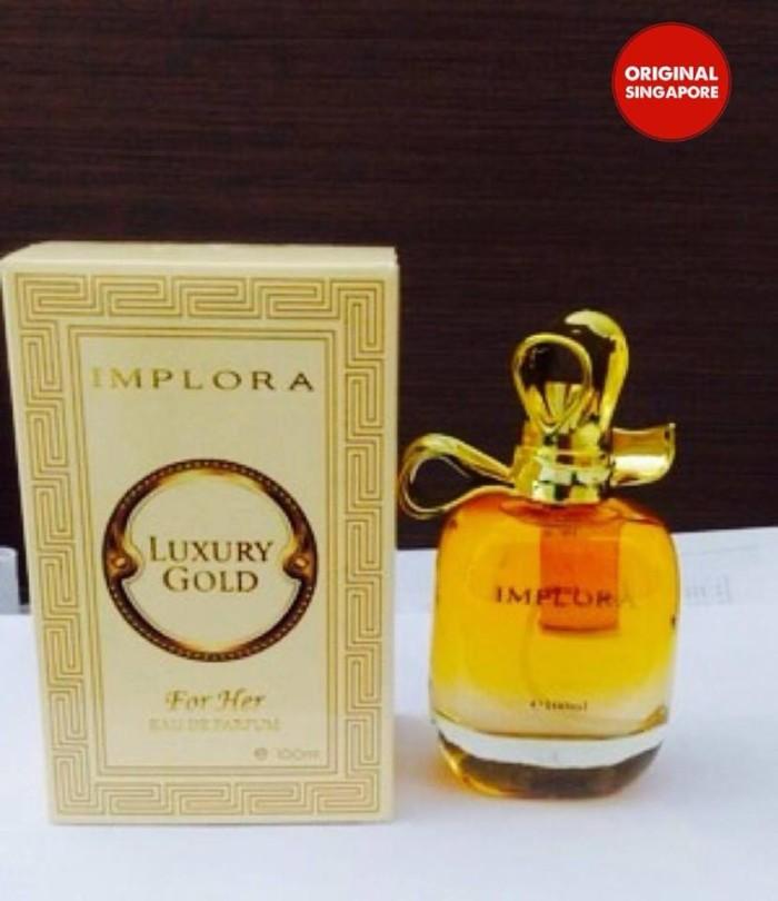 Jual Parfum Implora Luxury Goldwoman Original Singapore Dki