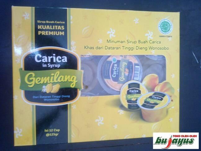 harga Carica syrup gemilang isi 12 Tokopedia.com