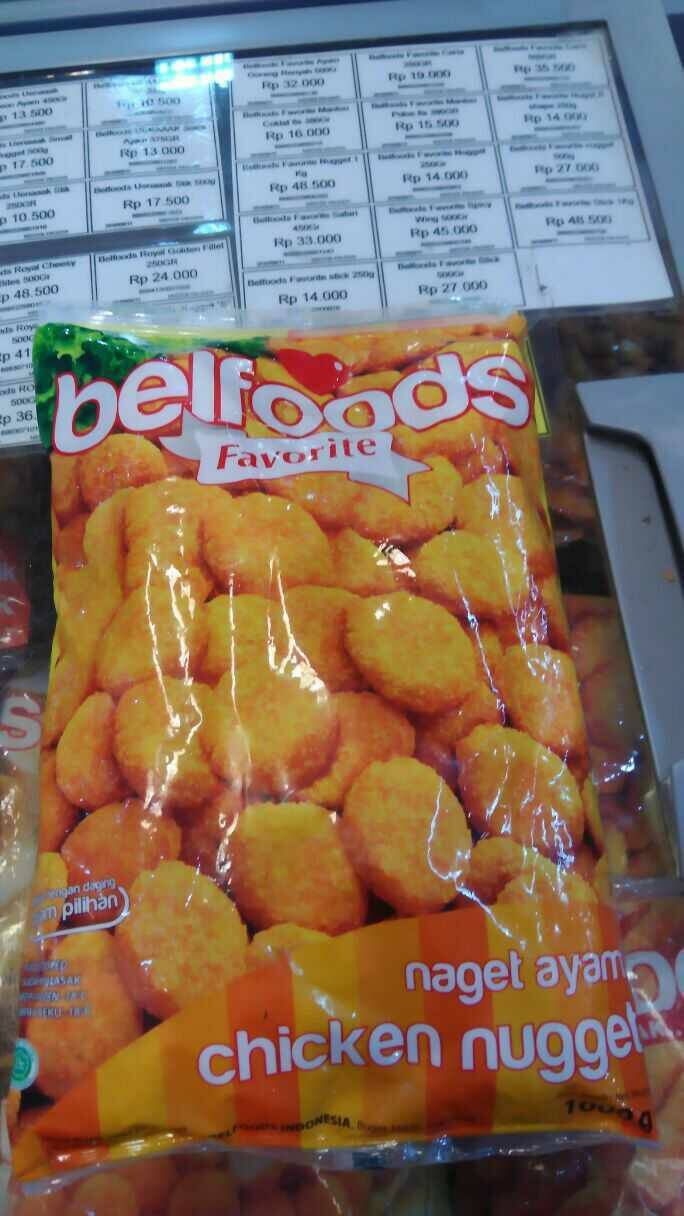 Jual Chicken Nuget Hemato Harga Murah Beli Dari Toko Online Belfoods Favorite Nugget Ceria Belfood 1kg