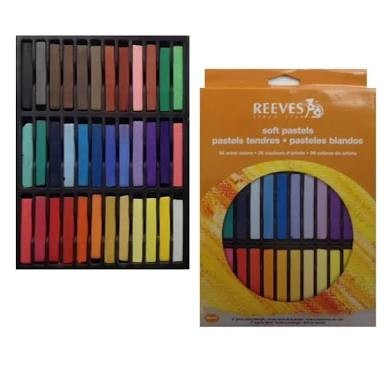harga Cat rambut pewarna hair chalk reeves soft pastel 36 color krayon reves Tokopedia.com