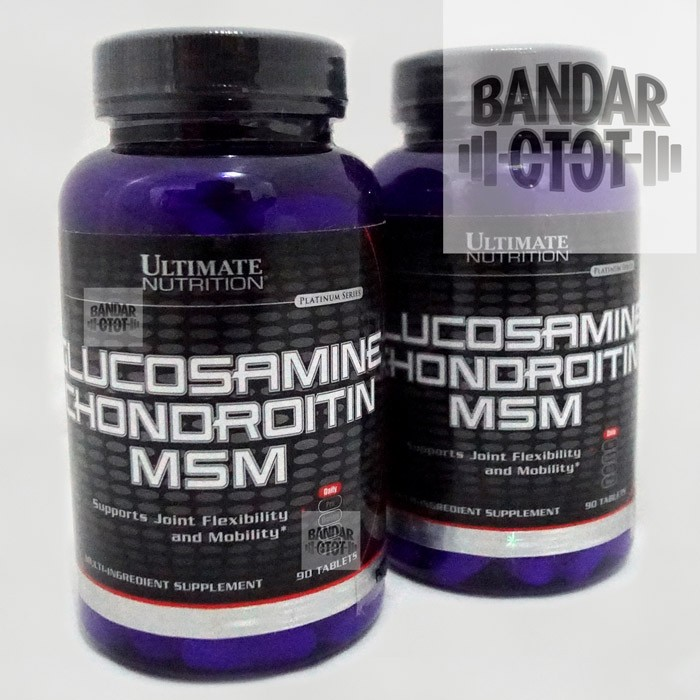 ... harga Ultimate nutrition glucosamine chondroitin msm 90 tablet 90tab tabs un Tokopedia.com