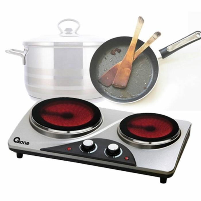 Oxone kompor listrik / double ceramic stove ox-655d