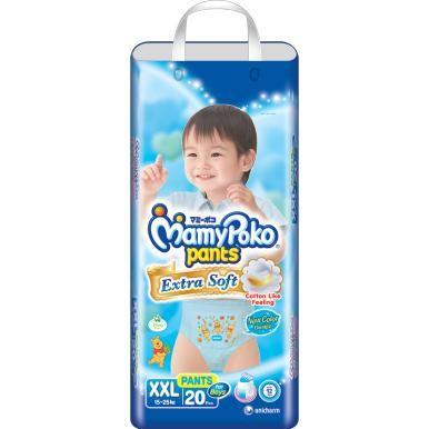 harga Mamypoko extra soft pants boy xxl20 / xxl 20 ( khusus gosend / gojek ) Tokopedia.com