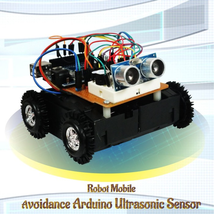 Foto Produk Kit Robot Arduino Wall Avoider (Robot penghindar dinding) dari SImple n Fit Store