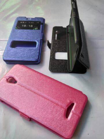 harga Leather case oppo yoyo r2001 flip case cover sarung dompet hp Tokopedia.com