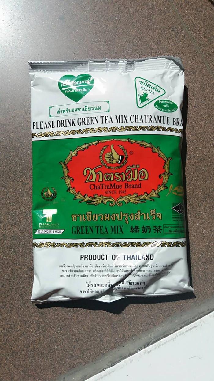 thai green tea asli number one / chatramue 200g