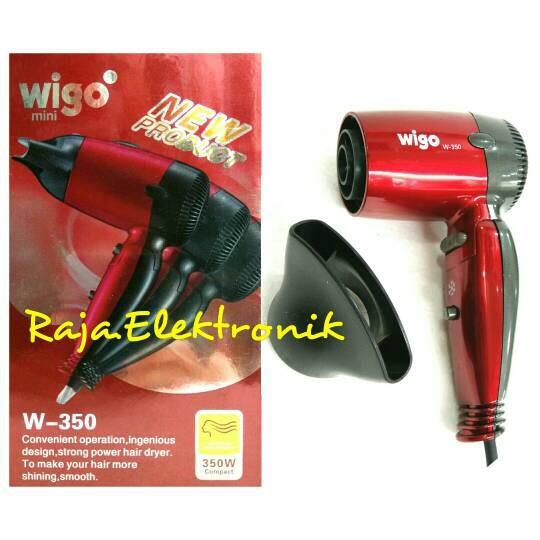 harga Hairdryer mini wigo w-350 pengering rambut hair dryer blow blower Tokopedia.com