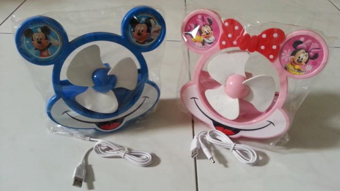 harga Kipas angin mickey mouse usb fan kado souvenir Tokopedia.com