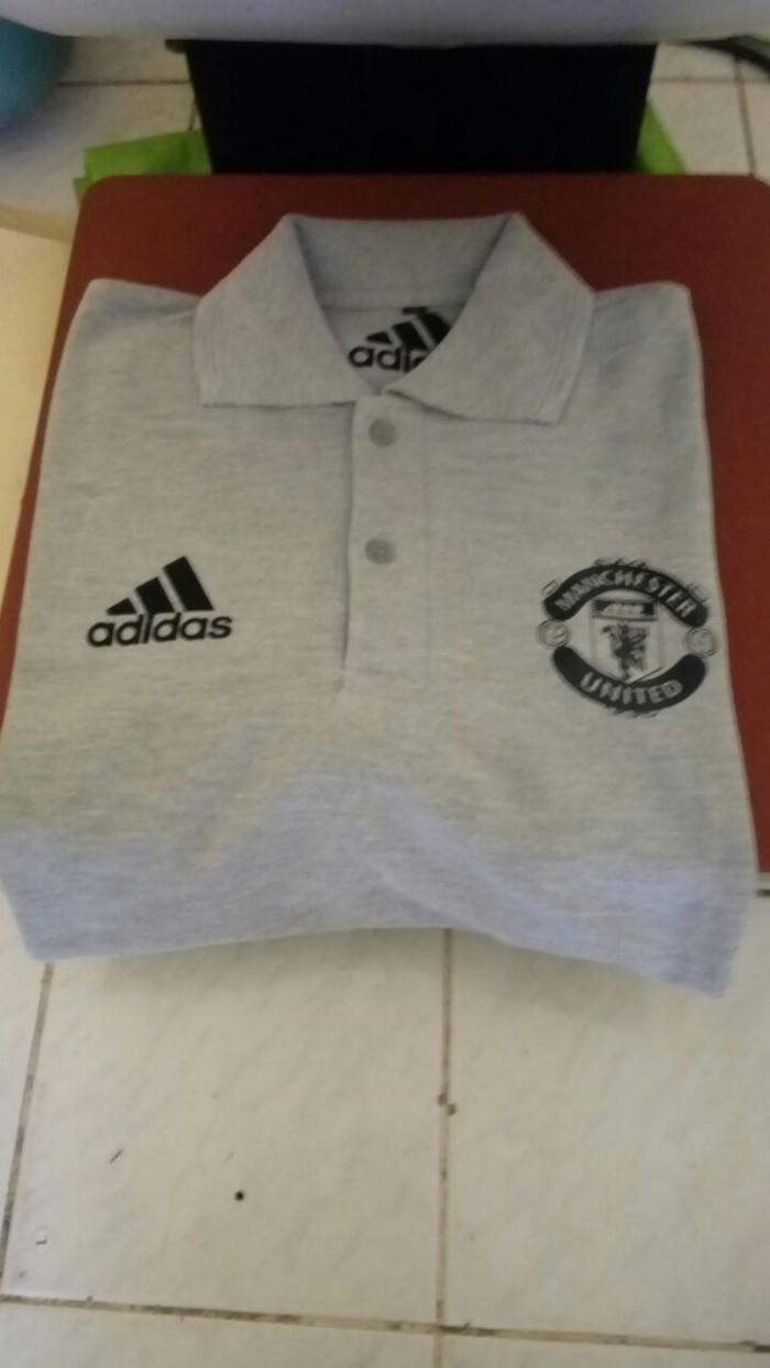 Jual Kaos Baju Polo Shirt MANCHESTER UNITED Terbaru Terlaris Kota Bekasi NCS Store