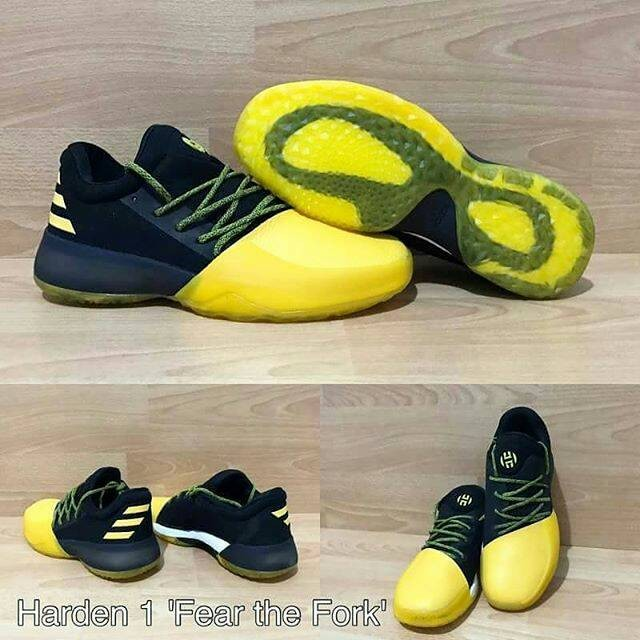 reputable site 088f0 089e9 ADIDAS JAMES HARDEN 1 FEAR THE FORK bukan jordan curry