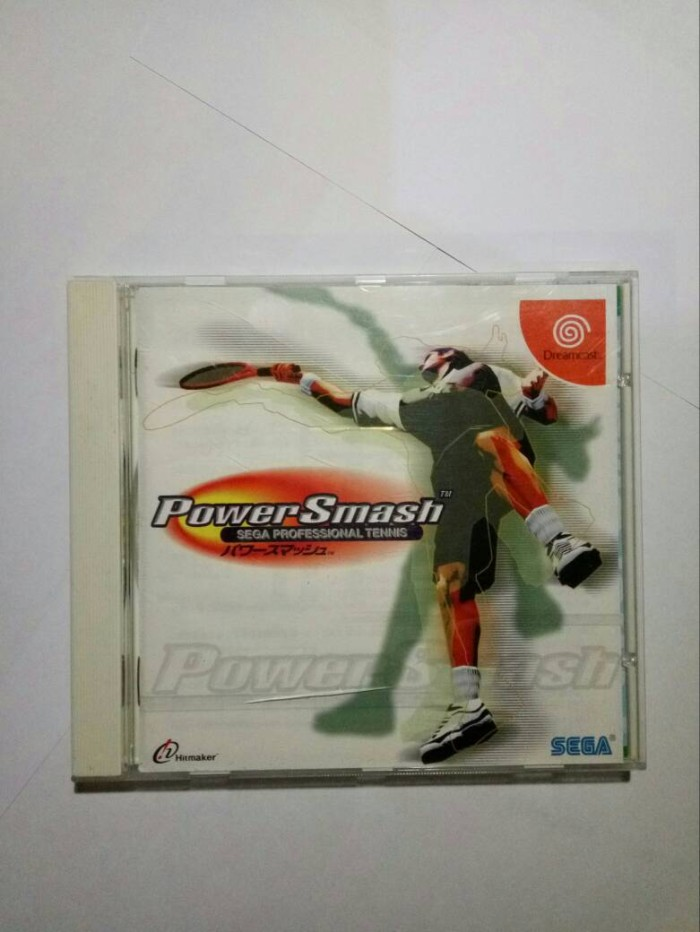 harga Sega dreamcast power smash sega professional tennis Tokopedia.com