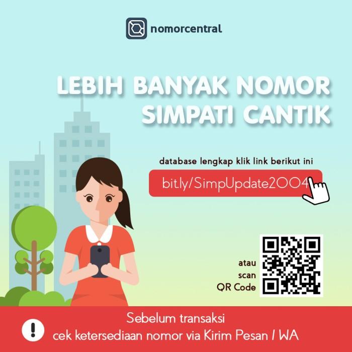 Kartu Perdana Nomor Cantik Telkomsel Simpati Super Gampang Dihapal