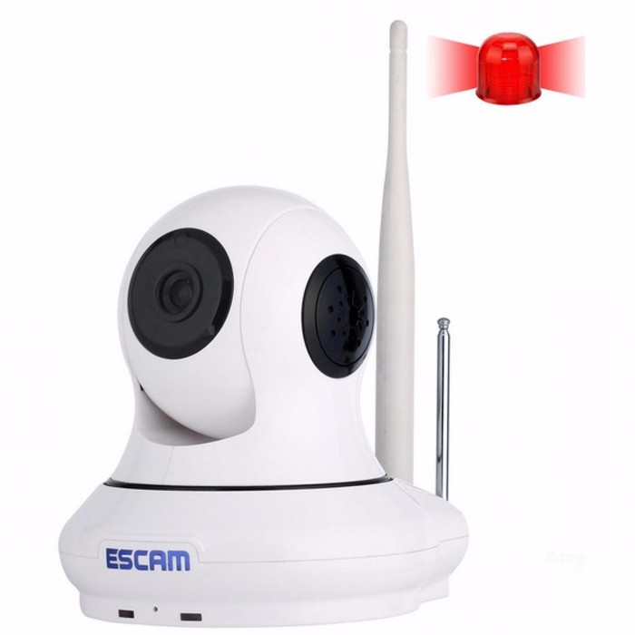 Foto Produk ESCAM Patron QF500 Wireless IP Camera CCTV for Android and iOS 1/4 Inc dari bursahandphone