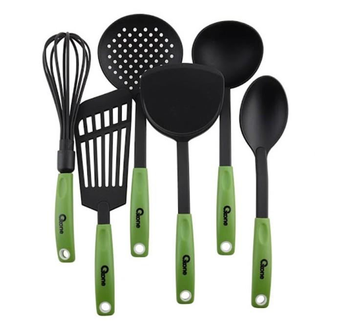Oxone alat masak spatula ox-953 - hijau /ungu /orange